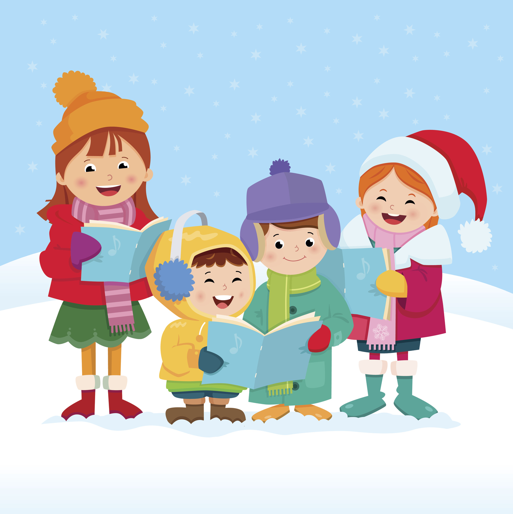 Christmas Caroling.The History Of Favorite Christmas Carols