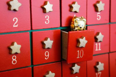 An Advent Calendar with a wonderful surprise each day