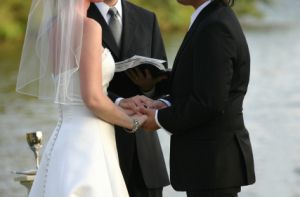 Perform a wedding by helping to write wedding vows