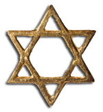 Star of David - symbol of Judaic faith