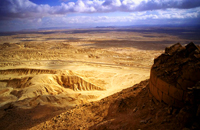 Sinai Desert, where the Hebrews spent 40 years wandering