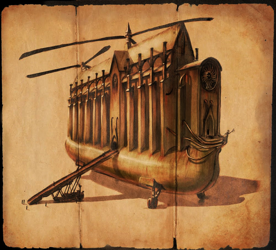 Like Online Churches, Steampunk Re-Invents Religion