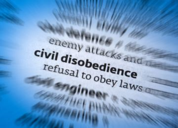Peaceful Civil Disobedience Leads to Change
