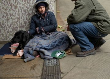 Doing Unto Others: Helping the homeless