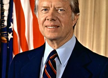 President Jimmy Carter Stands for Equality