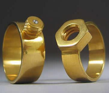 Weird Wedding Rings Universal Life Church