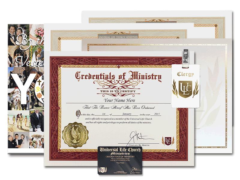 Classic wedding set universal life church classic wedding set colourmoves