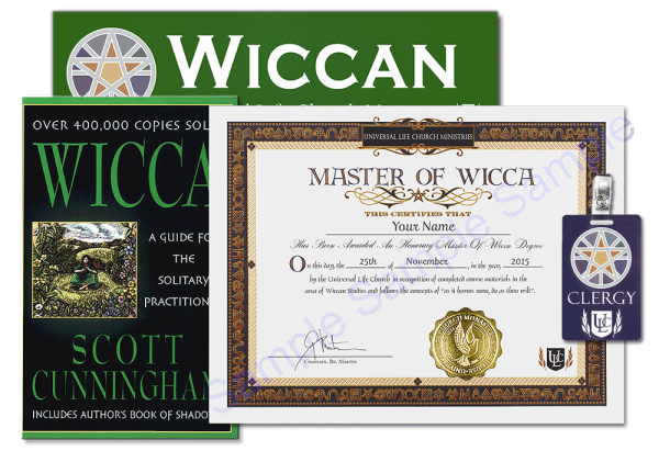 Master of Wicca Degree Kit