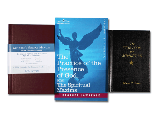 Minister Book Bundle