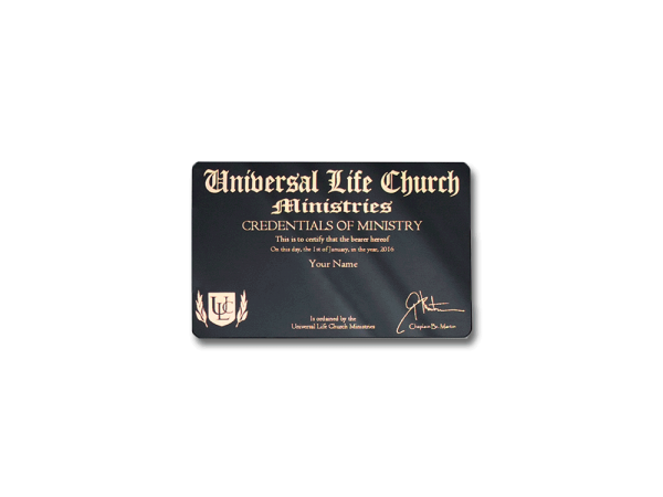 Ordination Wallet License