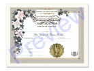 Commitment of Love Certificate Single Pack
