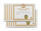 Holy Baptism Certificate 10 Pack