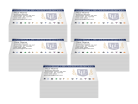 Minister Business Cards 5 Pack