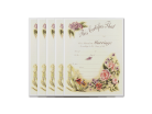 Wedding Certificate - Vintage Floral 5 Pack
