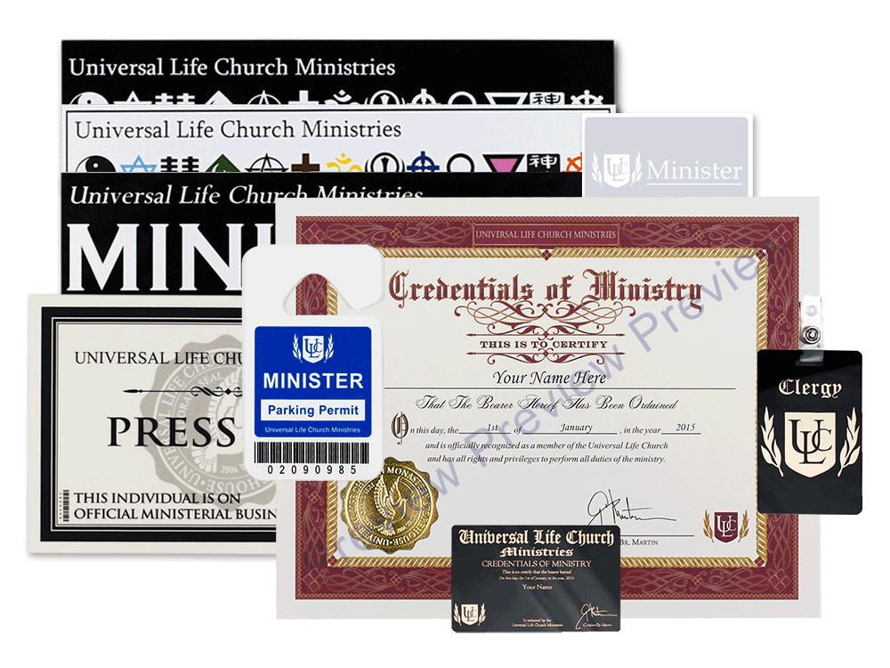 Ordination set universal life church ordination set colourmoves