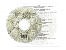 Wedding Melodies CD
