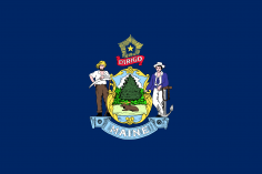 State Flag Of Maine