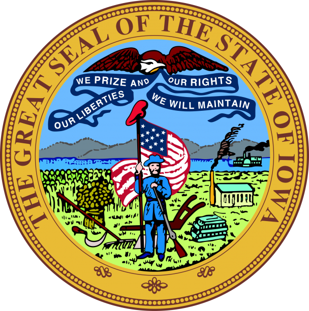 State Seal Of Iowa