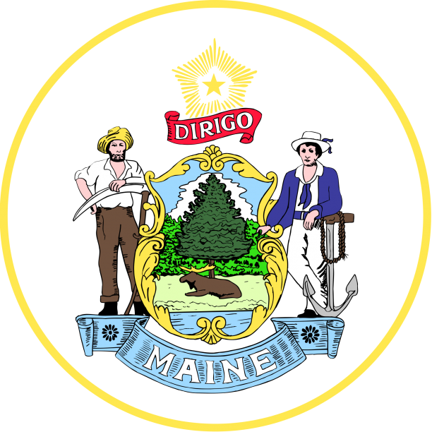 State Seal Of Maine