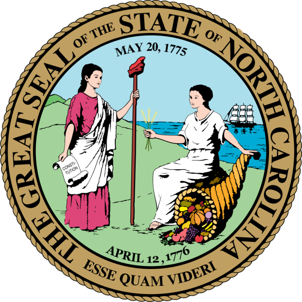 State Seal Of North Carolina
